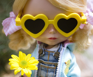blythe, love, and doll image