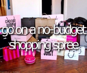 shopping, before i die, and wishlist image