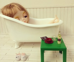 blythe, doll, and girly image