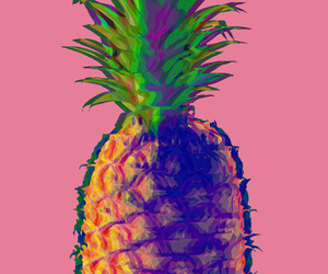 fruit, pineapple, and love image