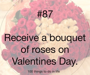 87, 100 things to do in life, and roses image