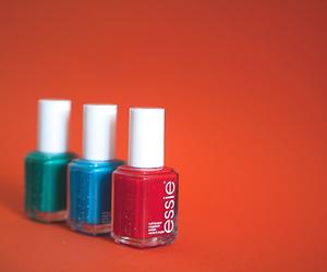green, nail varnish, and nailpolish image