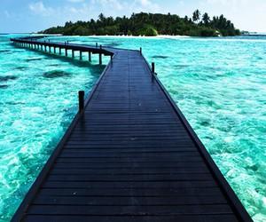 blue, sea, and bautiful image