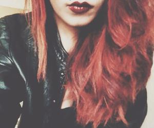 Aline, black, and piercing image