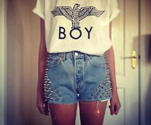 fashion, boy, and girl image