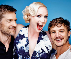 game of thrones, gwendoline christie, and pedro pascal image