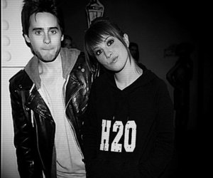 jared leto, hayley williams, and paramore image