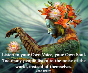 divinity and inner voice image