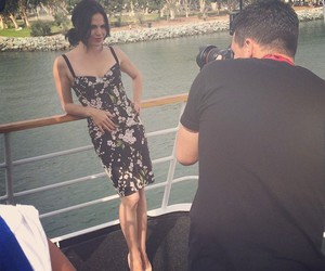 once upon a time, lana parrilla, and comic con 2014 image
