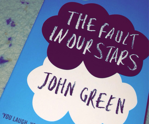john green, augustus waters, and read image