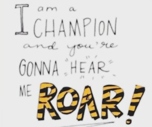 katy perry, quotes, and roar image