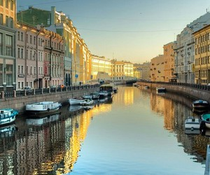 beautiful scenery, river, and russia image