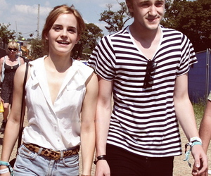 emma watson, tom felton, and harry potter image