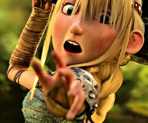 how to train your dragon, astrid, and httyd image