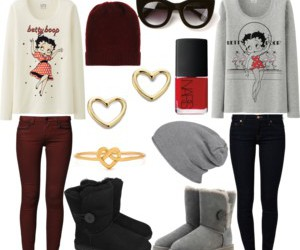 accessories, betty boop, and black image