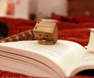 book, cute, and box image
