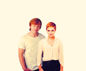 couple, harry potter, and cute image
