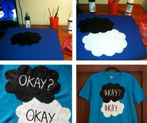 black, paint, and the fault in our stars image