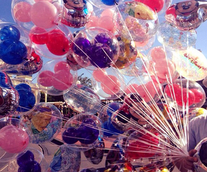 balloons, disney, and love image