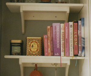 books, vintage, and hipster image