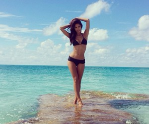 beach, beauty, and sea image