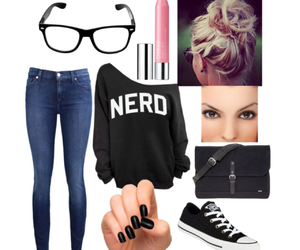 nerd and outfit image