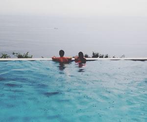 peace, pool, and sea image