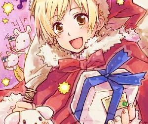 hetalia, christmas, and anime image