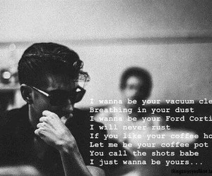 arctic monkeys, yours, and song image