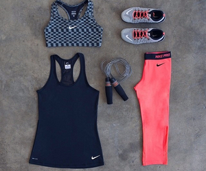nike, sports, and love image