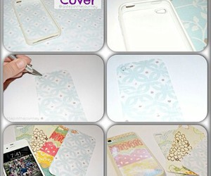 diy, iphone cover, and Easy image