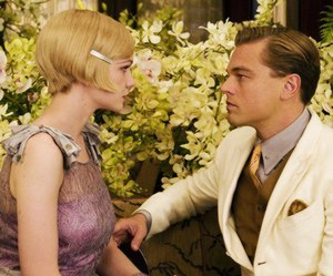 the great gatsby, leonardo dicaprio, and jay gatsby image