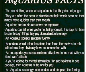 aquarius, astrology, and experience image
