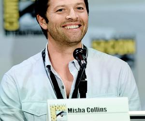 supernatural and misha collins image