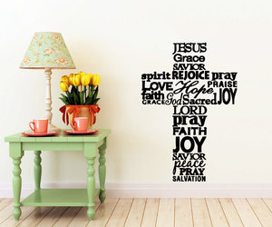 home decor, wall decal, and wall decals image