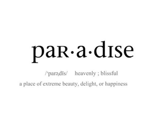 paradise, quotes, and definition image