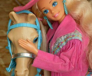 barbie and horse image