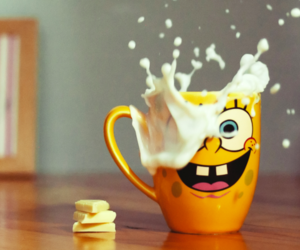 milk and sponge bob image