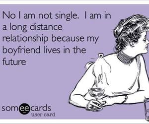 boyfriend, distance, and funny image