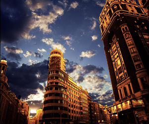city and madrid image