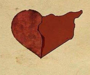heart, love, and syria image