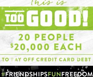 card, credit, and debt image