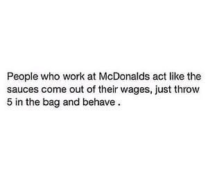 HAHAHA, McDonalds, and behave image