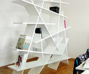 bookcase, new, and books image