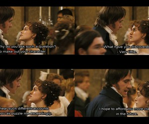 Elizabeth, movie, and mr darcy image