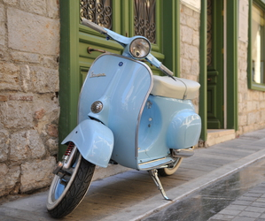 travel, Vespa, and awesome image