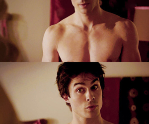 ian somerhalder, sexy, and damon image