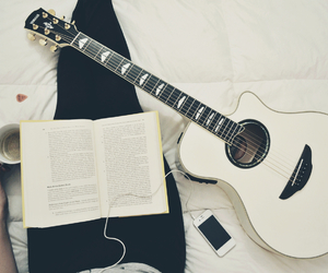 inspiration, reading, and music image