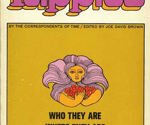 hippies, hippie, and vintage image
