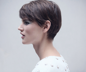 short hair, style, and pixie cut image